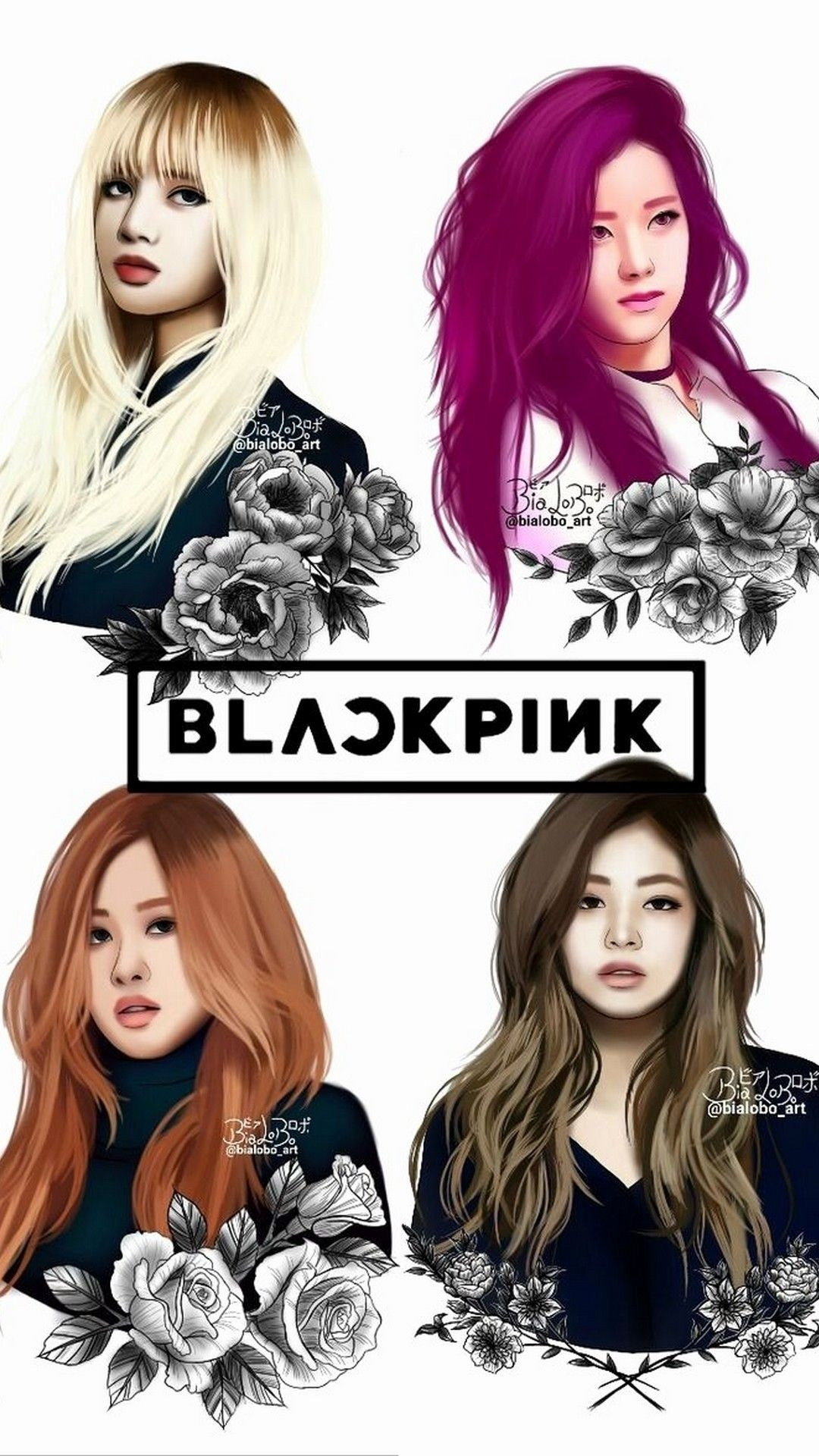 Blackpink Phone Wallpaper Posted By Christopher Peltier