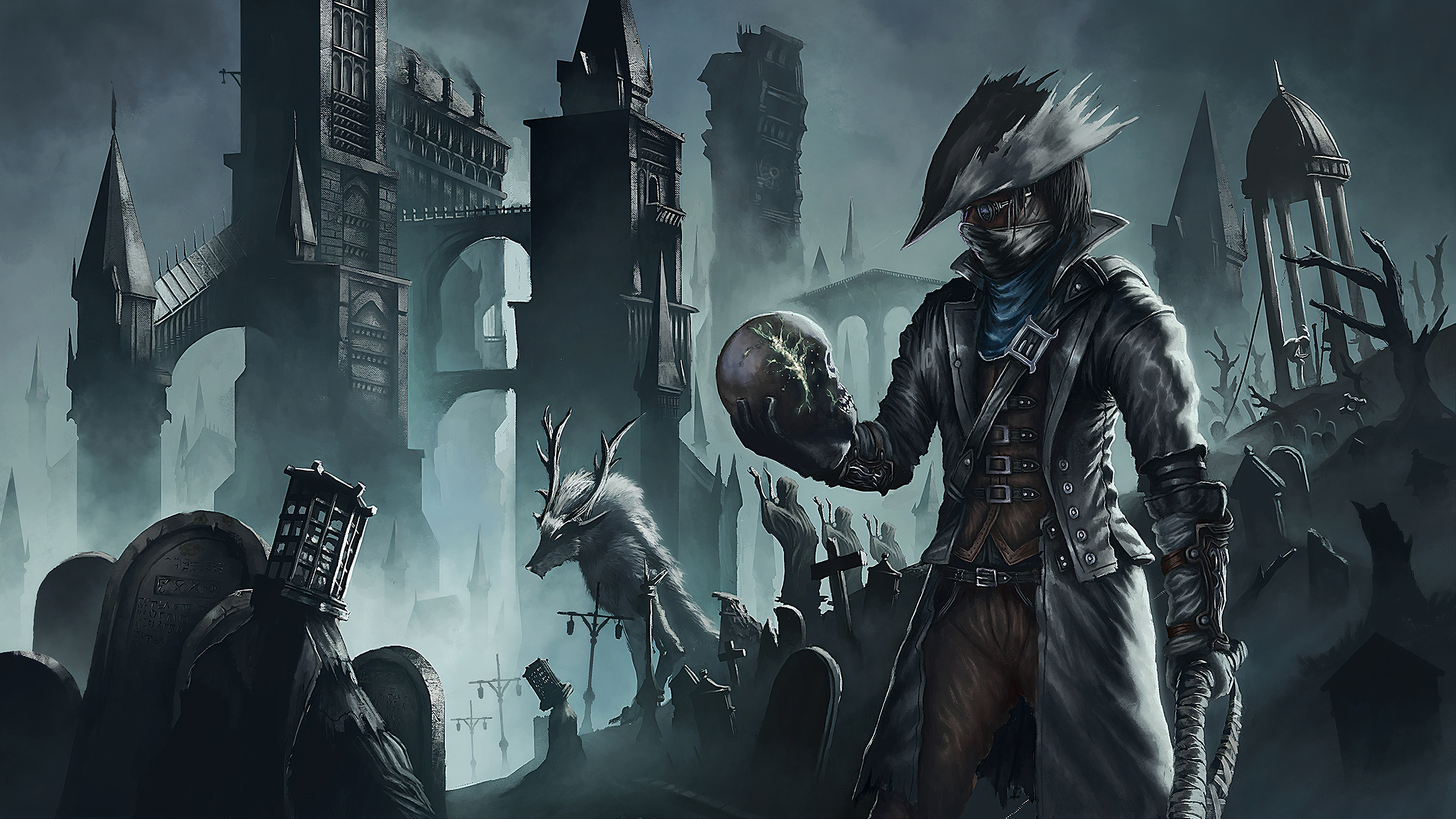 Bloodborne Hd Wallpapers Posted By Samantha Sellers