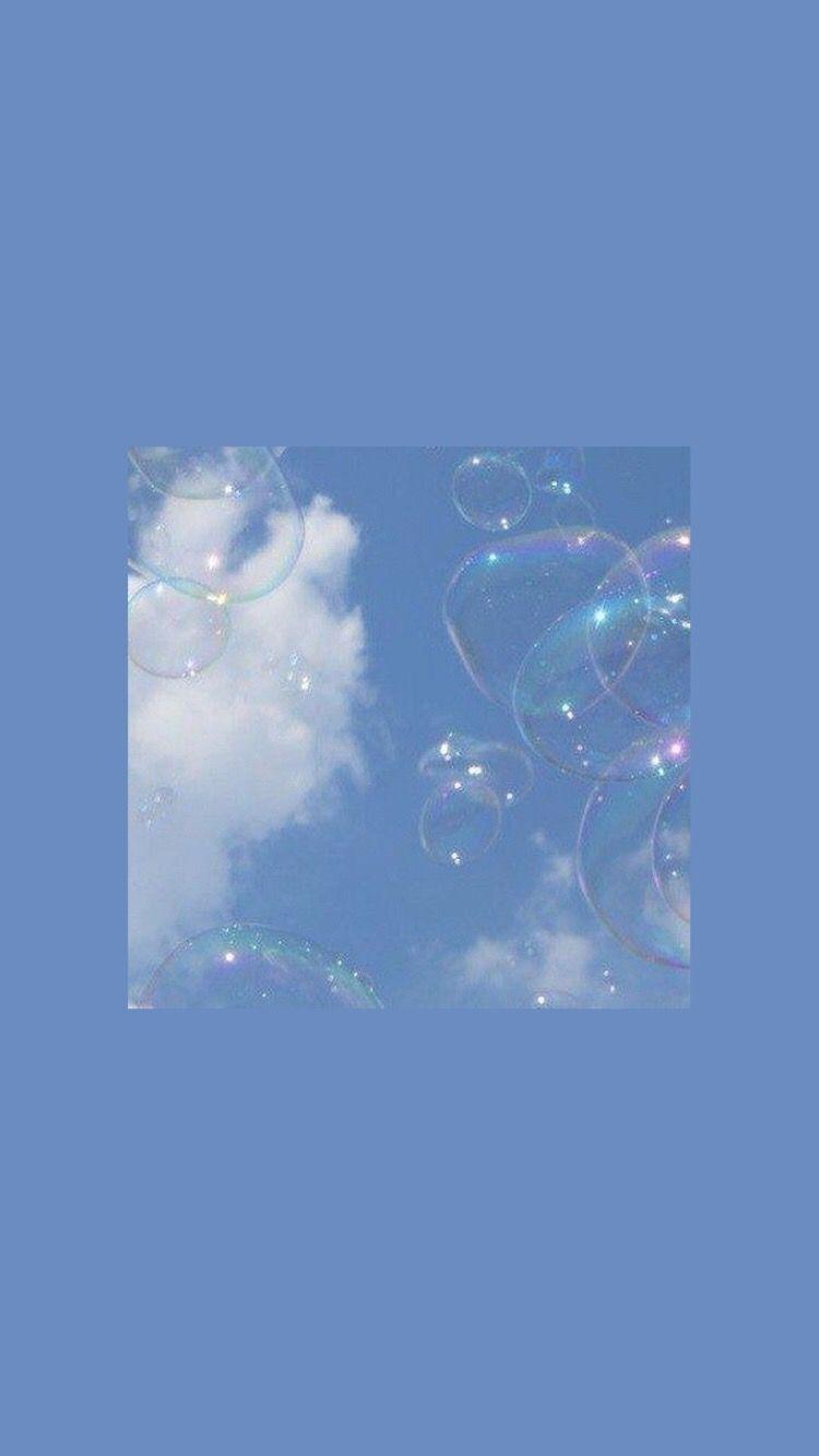 Blue Wallpaper Hd Aesthetic Gambar Ngetrend Dan Viral