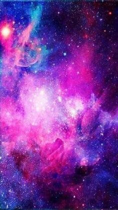 Galaxy Background Pink Purple Blue garden design ideas