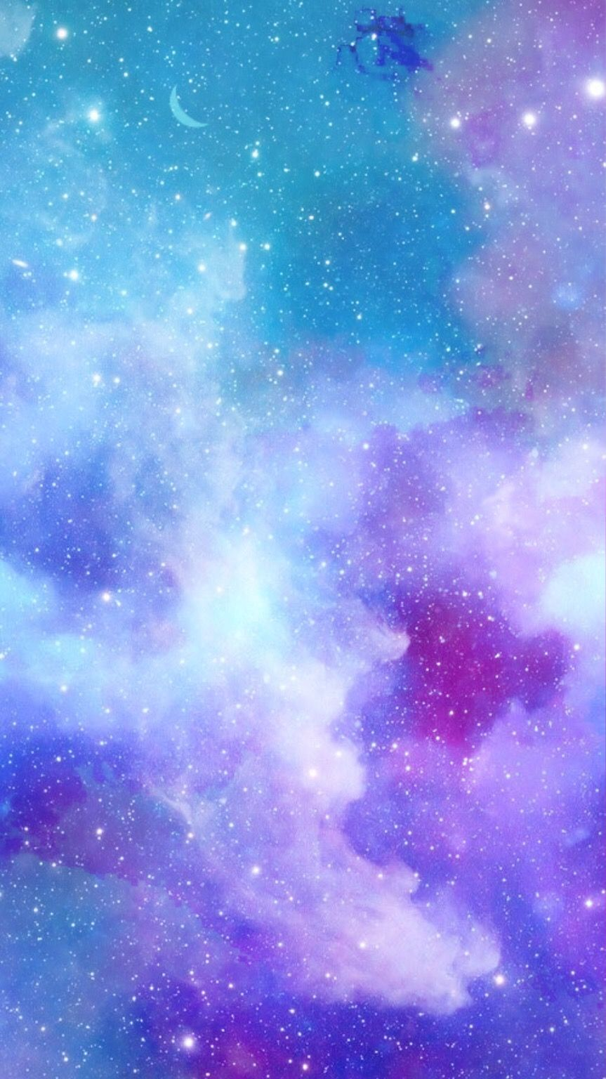 Blue And Pink Galaxy Wallpaper Posted By Christopher Walker