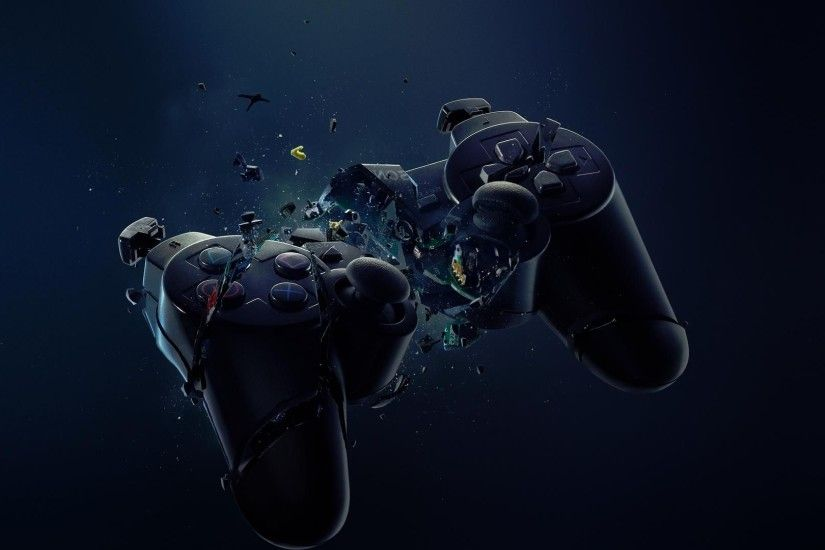 Blue Gaming Wallpapers Posted By Samantha Johnson