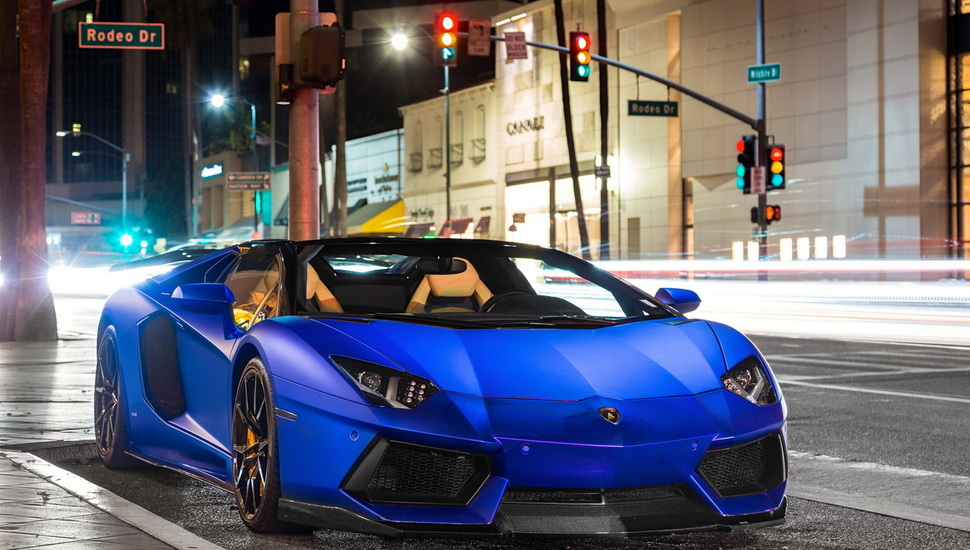Blue Lamborghini Wallpaper Posted By John Mercado