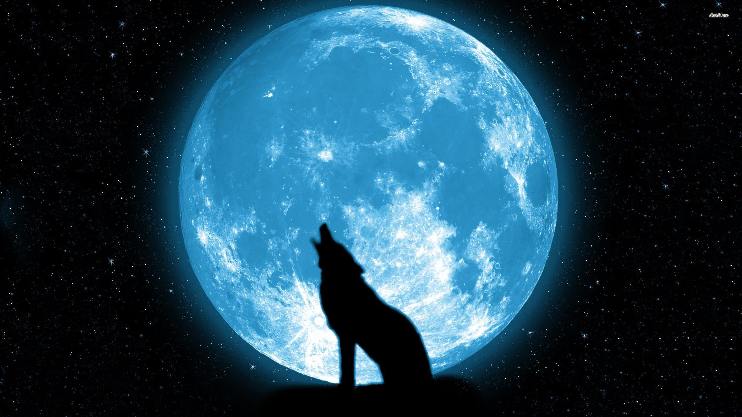 Blue Moon Wallpaper Posted By Ethan Walker