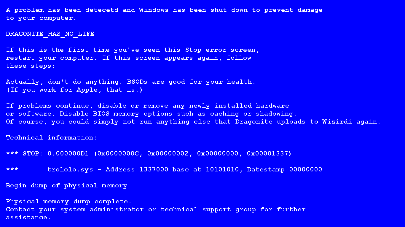 Blue Screen Of Death Background Posted By Sarah Mercado