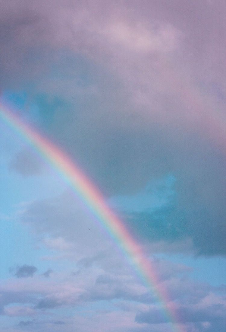 Blue Sky Rainbow Wallpapers Posted By Ryan Walker