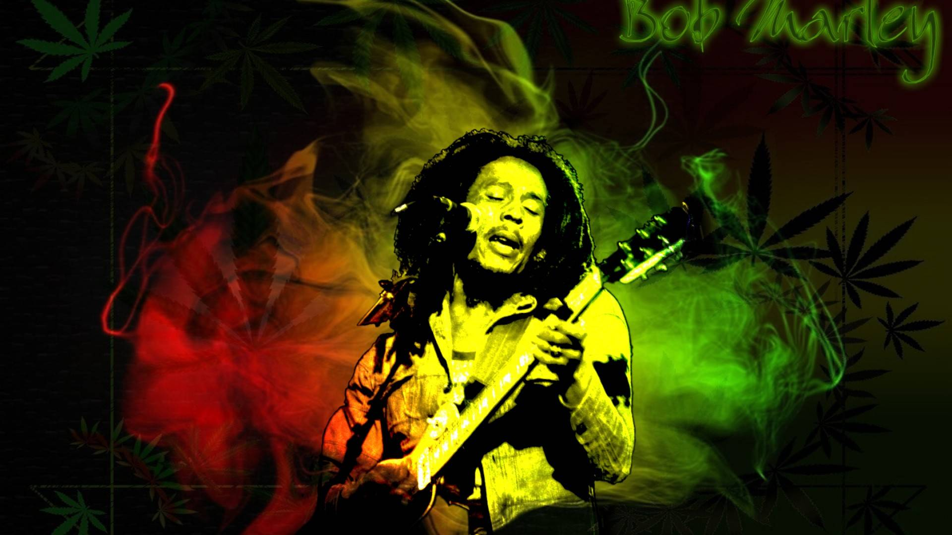 Bob Marley Colors Wallpaper Hd Posted By John Simpson