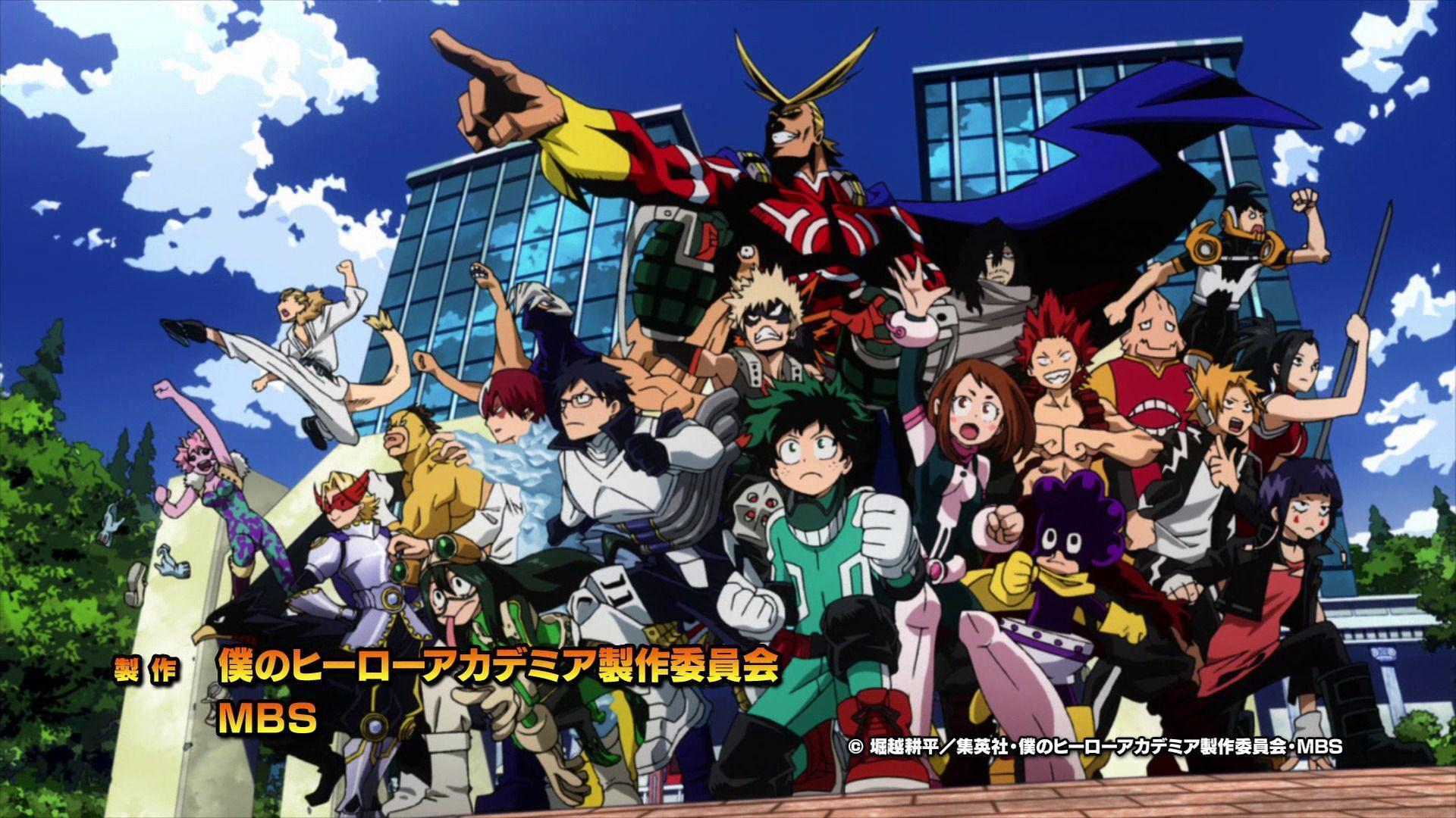 Boku No Hero Academia Background Posted By Sarah Johnson