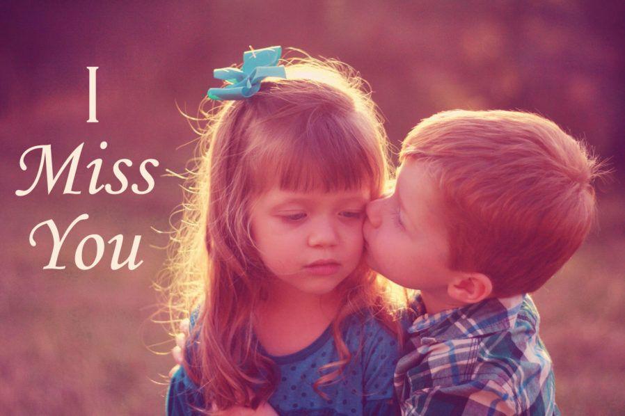 Girl and boy kiss you