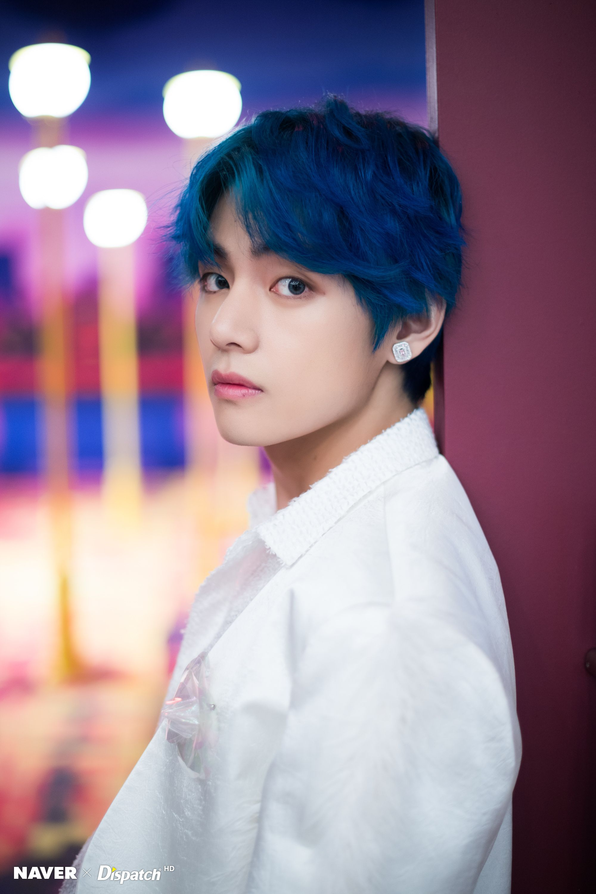 BTS V Boy With Luv Music Video Filming by Naver x