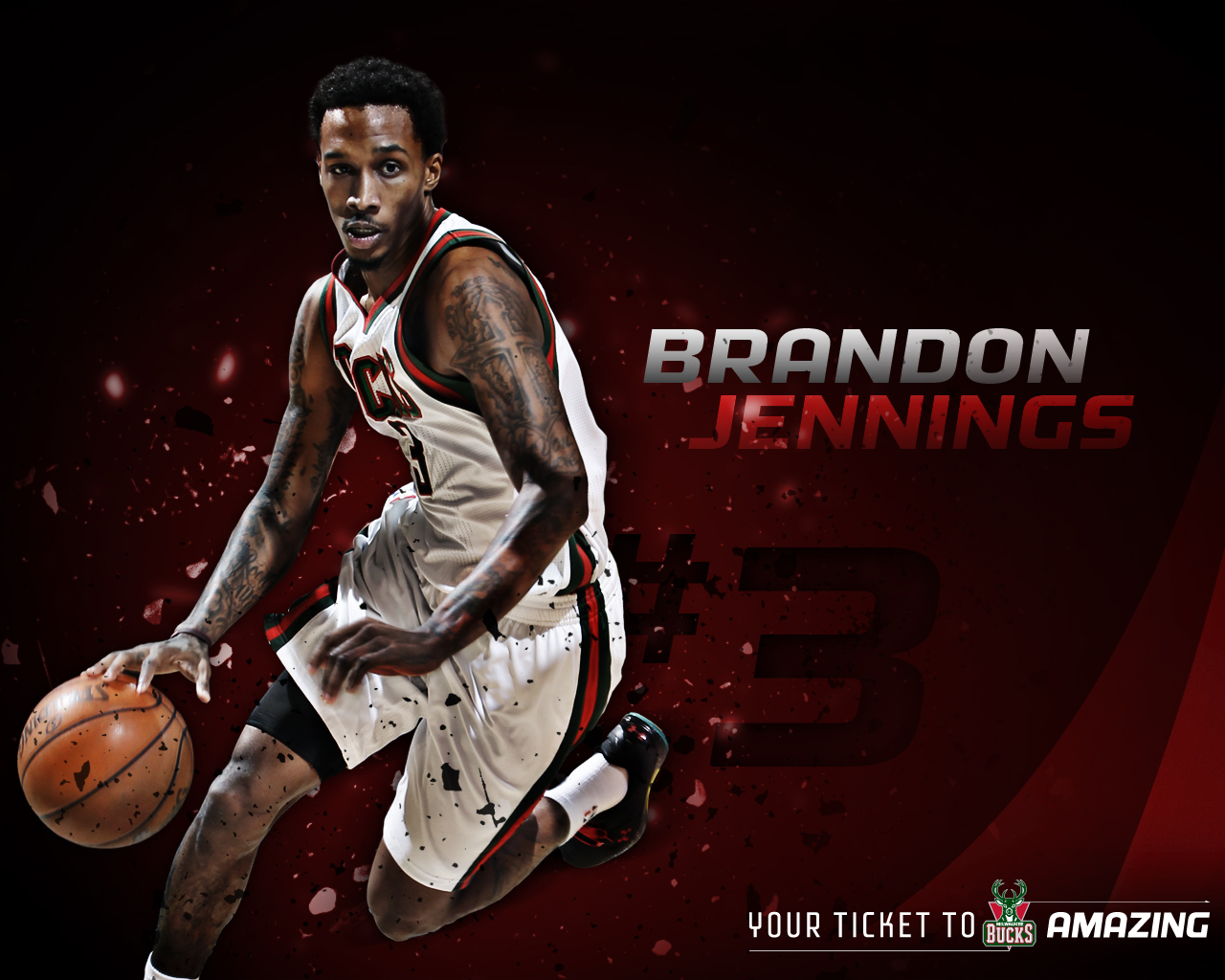 Brandon Jennings Wallpapers Posted By Sarah Peltier