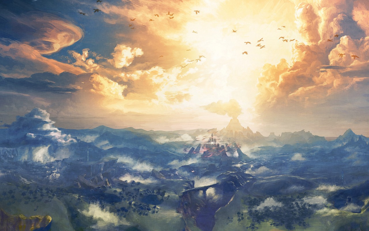 Breath Of The Wild Desktop Backgrounds Posted By Michelle Simpson
