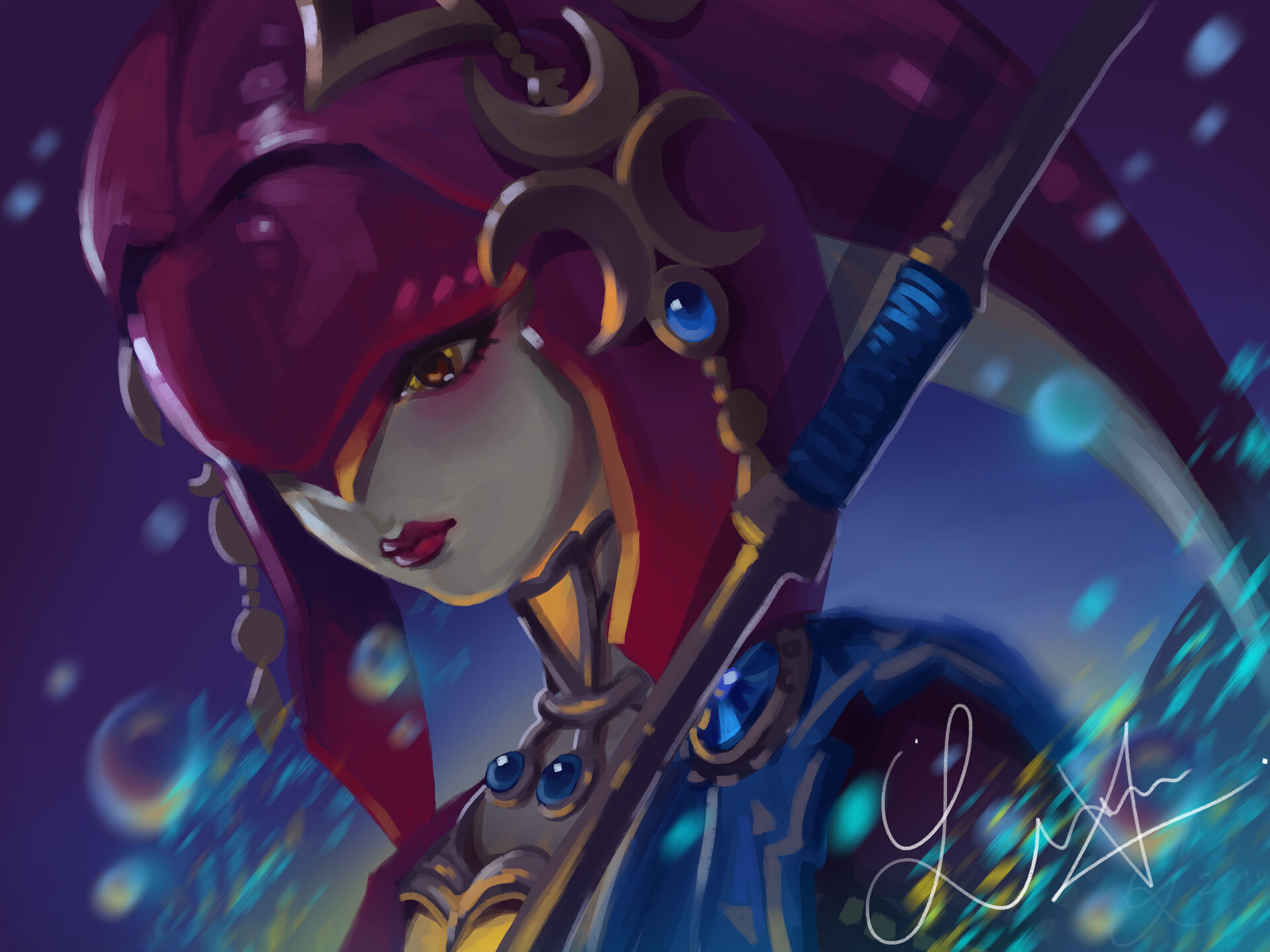 Breath Of The Wild Wallpaper Mipha Posted By Ethan Tremblay