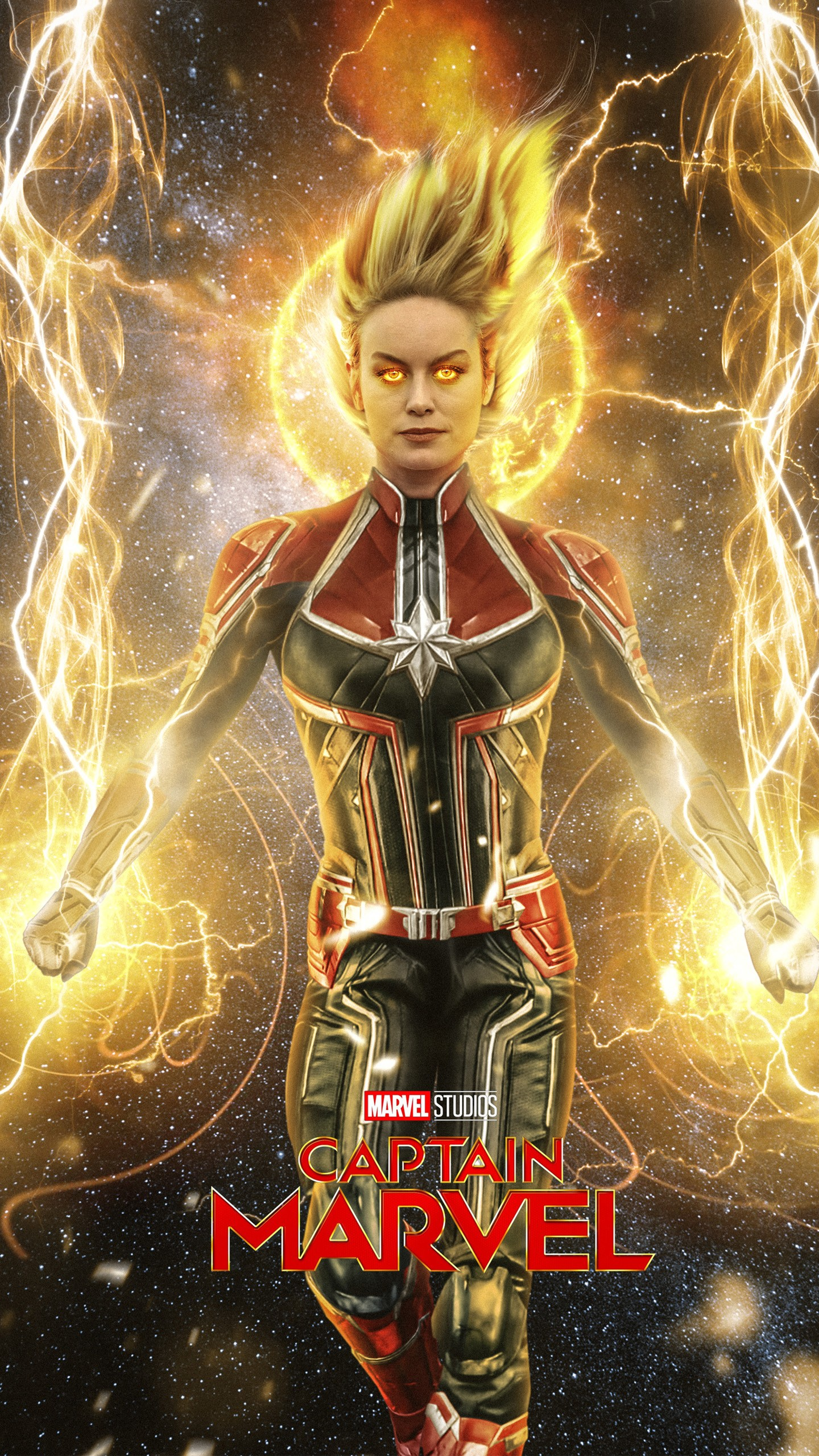 Brie Larson Captain Marvel Wallpaper Posted By Christopher Simpson