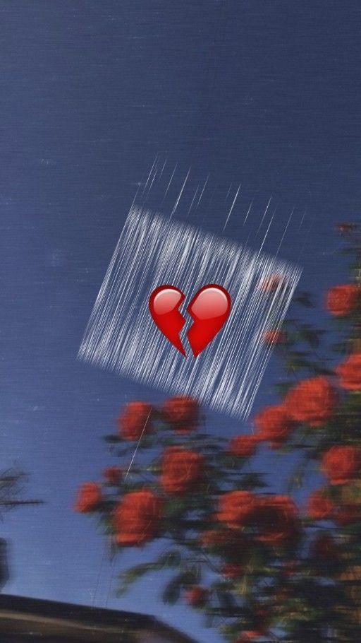 Break Heart w a l l p a p e r s in 2019 Emoji wallpaper