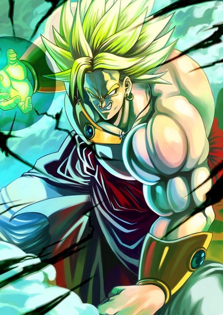 Broly Hd Wallpaper Posted By Ethan Simpson