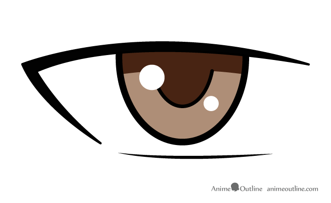 Brown Anime Eyes Posted By Christopher Johnson