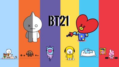 Bt21 Desktop Wallpapers Posted By Ryan Mercado