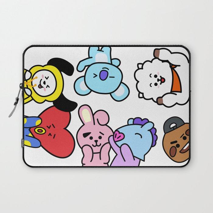 BT21 BTS Run Episode 33 Inspired Laptop Sleeve by imgoodimdone