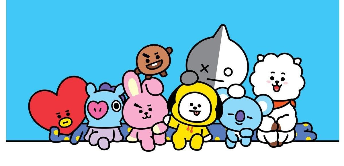 bt21 Google c oec in 2019 Line friends, Bts wallpaper, Manila