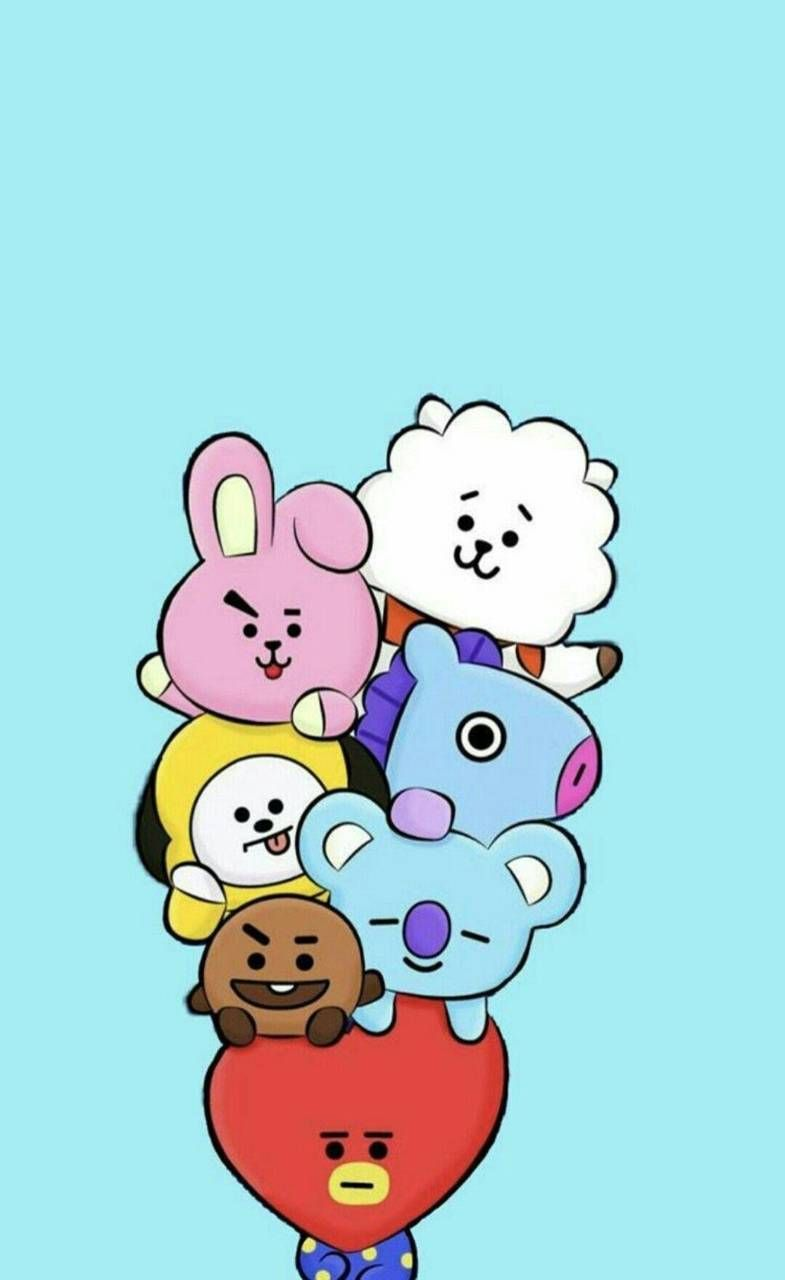 Bt21 Wallpaper Hd Posted By John Simpson