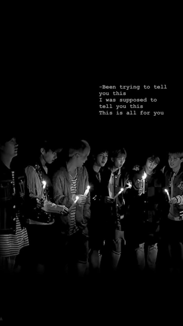bts wallpaper group lyrics 2 3 on We Heart It