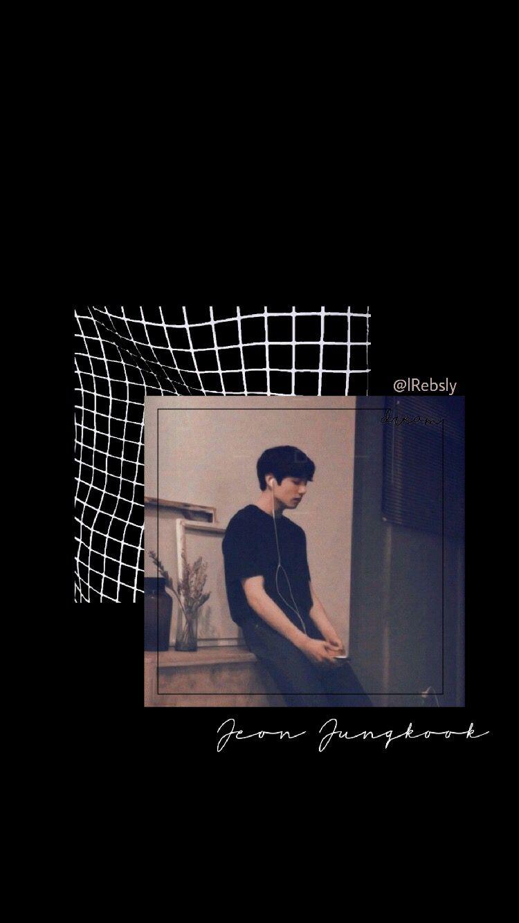 Bts Black Background Aesthetic Wallpaper Black 3d