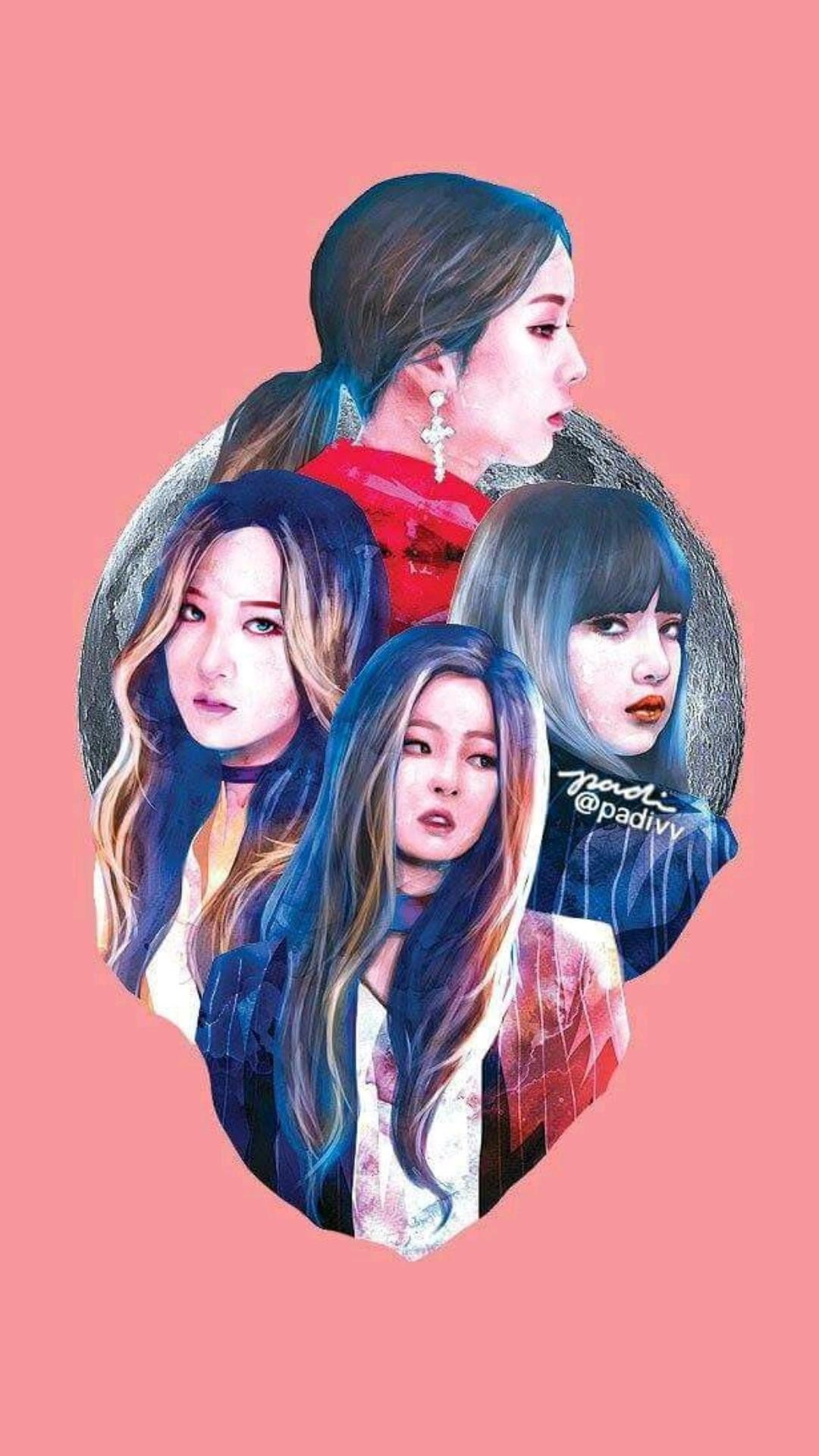 Bts And Blackpink Anime Wallpapers Posted By Christopher Sellers