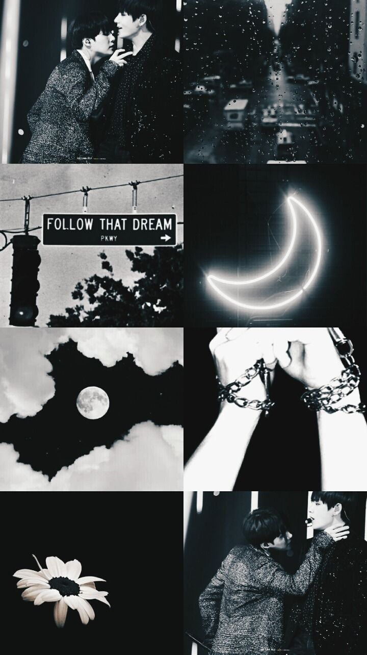 Bts Aesthetic Wallpapers Bts Aesthetic Lockscreen Black