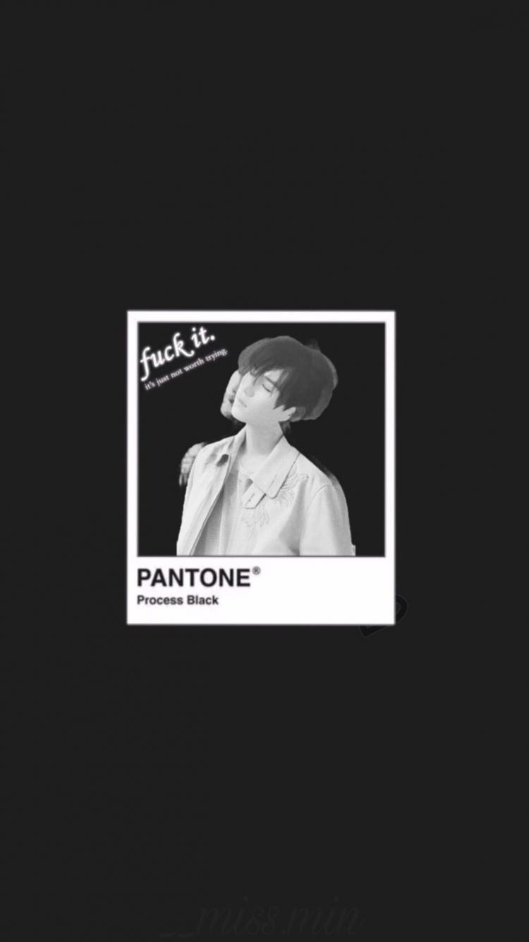 Free download BTS black Aesthetic Wallpaper Suga Dont Remove