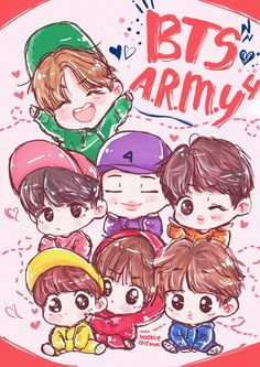 Bts Cartoon Wallpapers Posted By Michelle Mercado