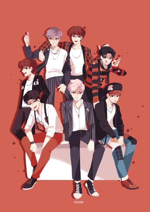 BTS War Of Hormone Fanart it also looks good as a