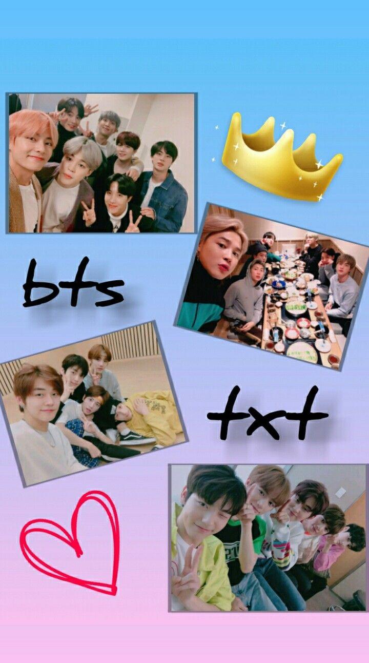 TXT BTS txt and bts wallpaper in 2019 Bts wallpaper, Bts