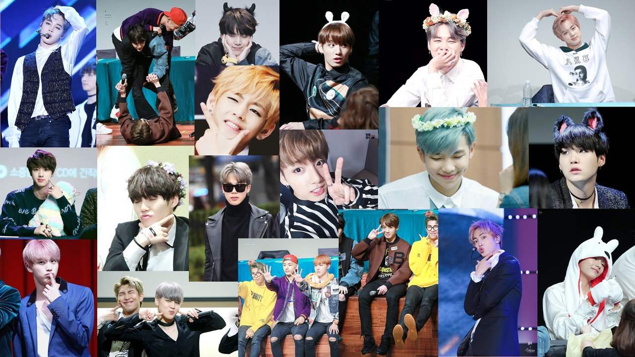 Bts Computer background shared by Emy on We Heart It