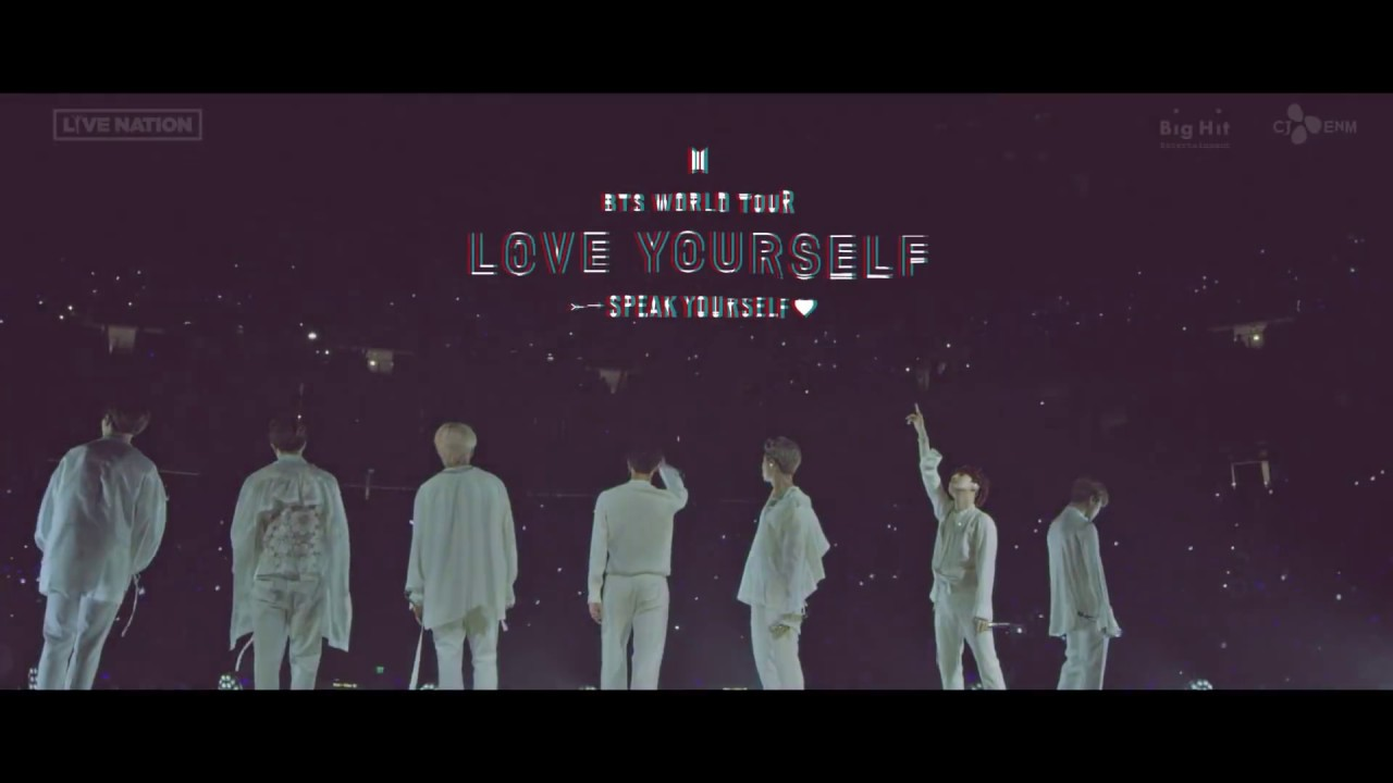 BTS WORLD TOUR LOVE YOURSELF SPEAK YOURSELF SPOT