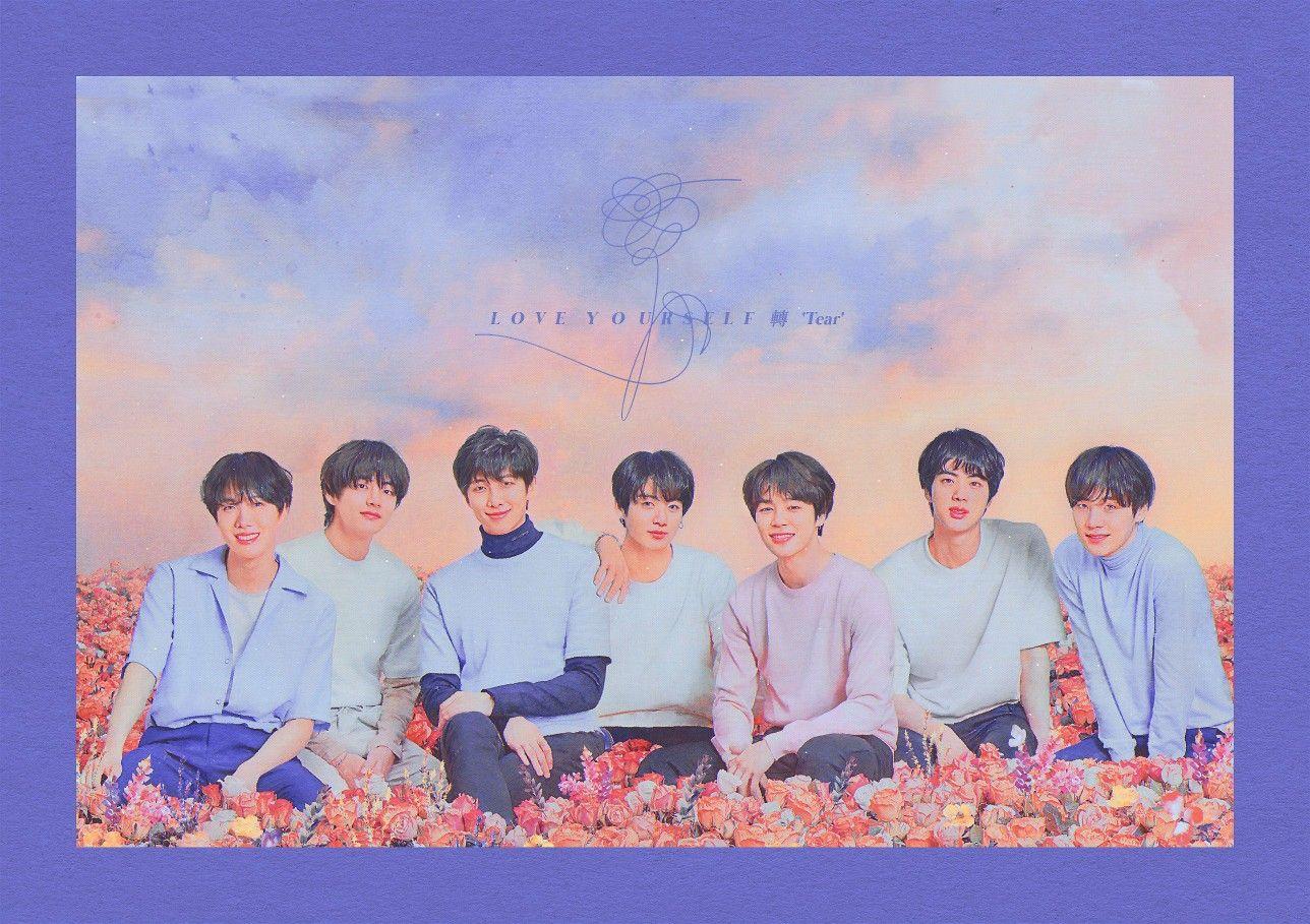 BTS desktop background wallpaper love yourself world tour in
