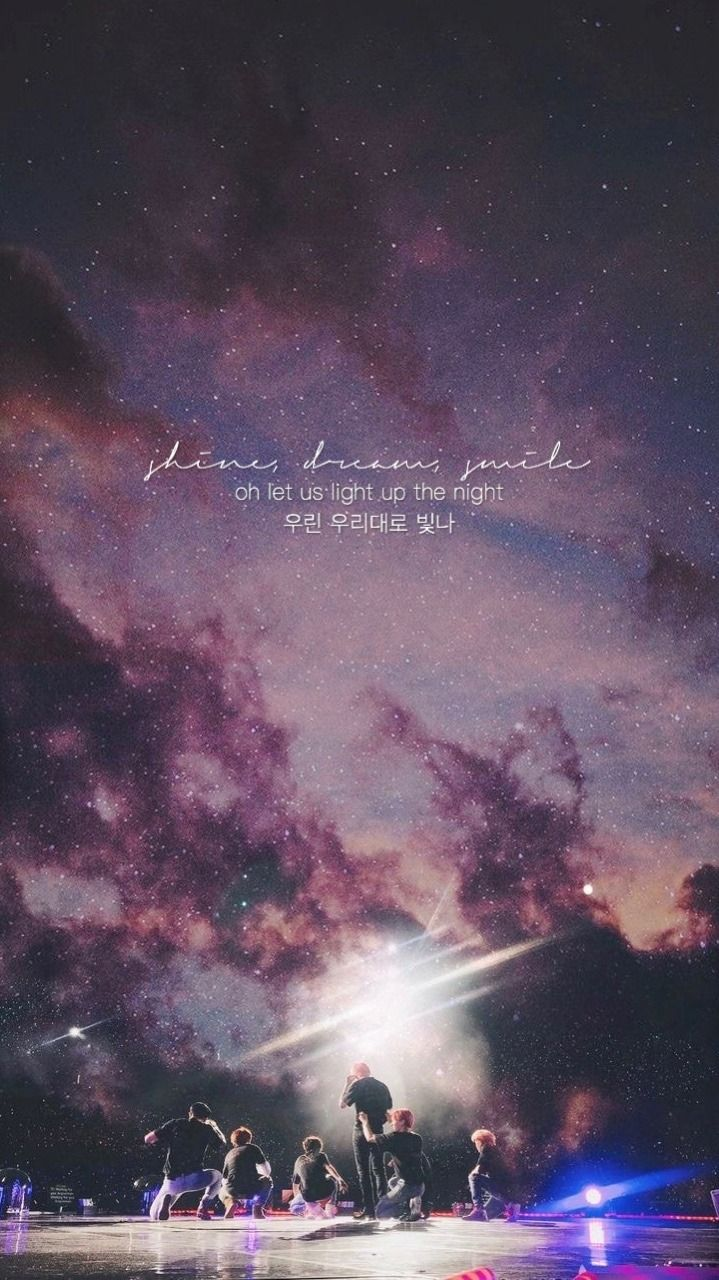 BTS Galaxy Wallpapers Top Free BTS Galaxy Backgrounds