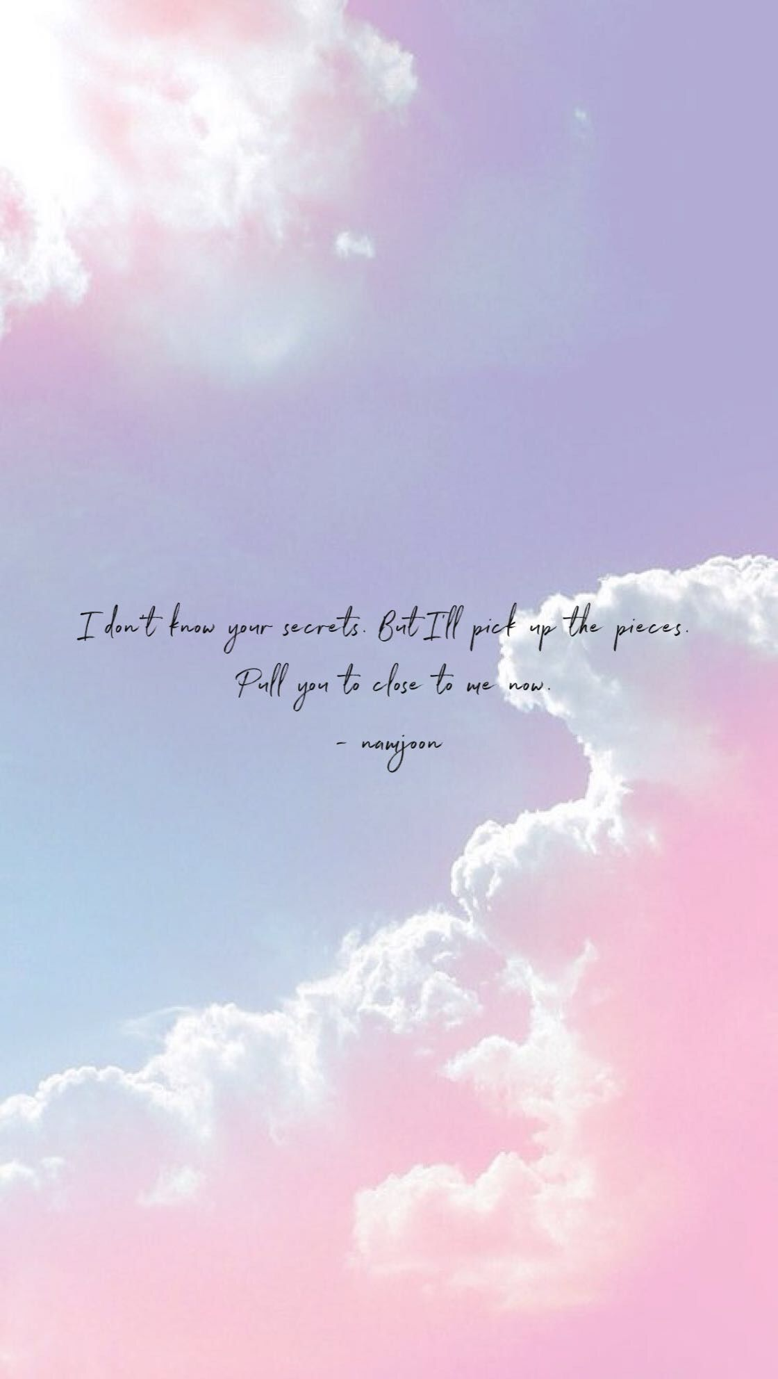 Wallpaper Quotes, Song Bts Waste It On Me Quotes, Hd