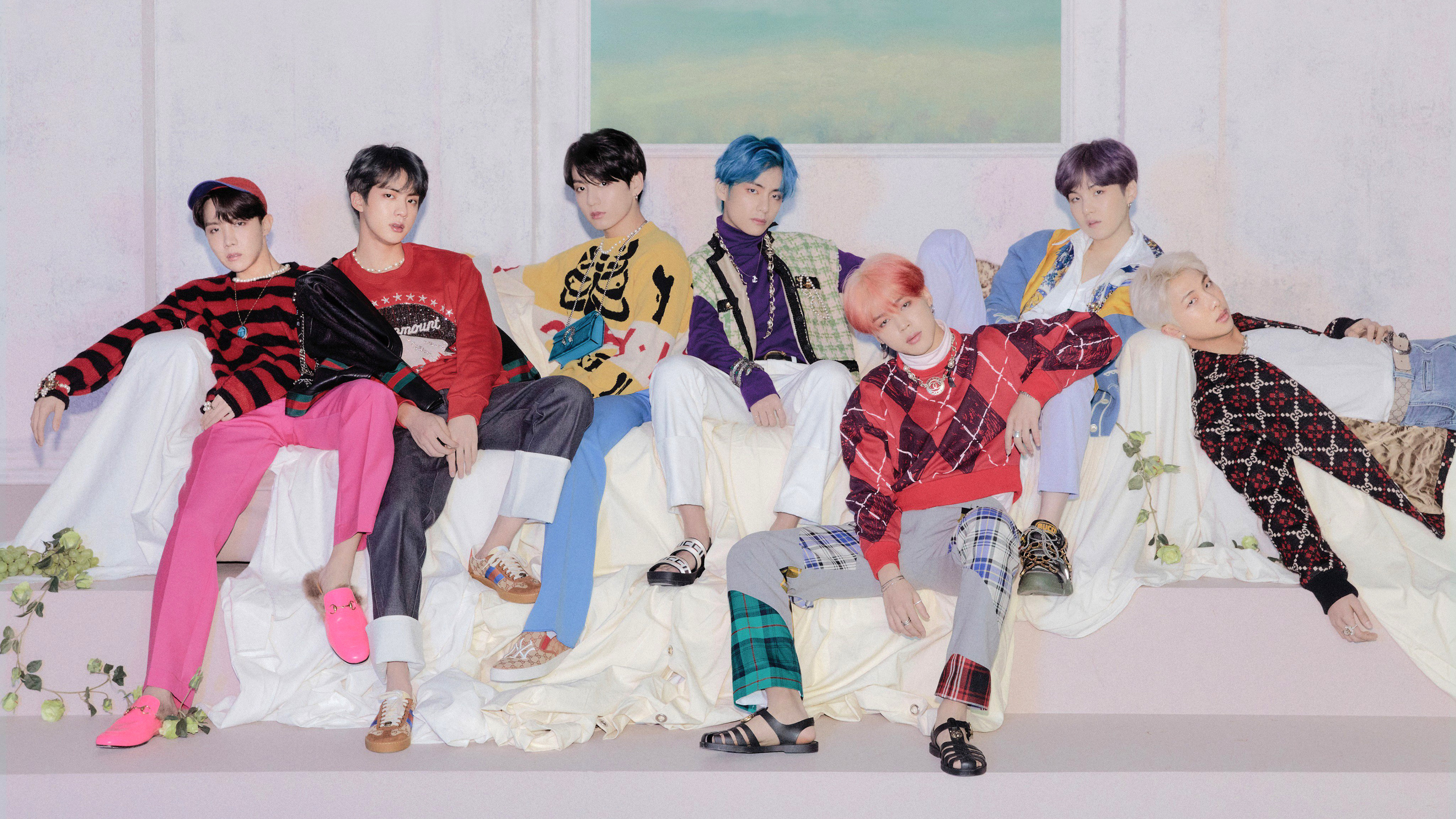 BTS Map of the Soul Persona Members 4K Wallpaper 17