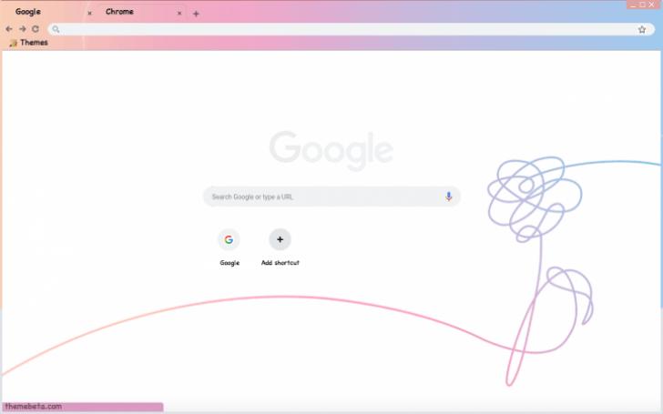 BTS Love Yourself HER Wallpaper Chrome Theme ThemeBeta