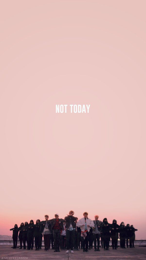 Bts Wallpaper Hd Iphone Bts Not Today Lockscreen Free