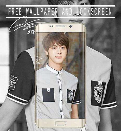 Download Full HD BTS Jin Wallpaper for android Myket
