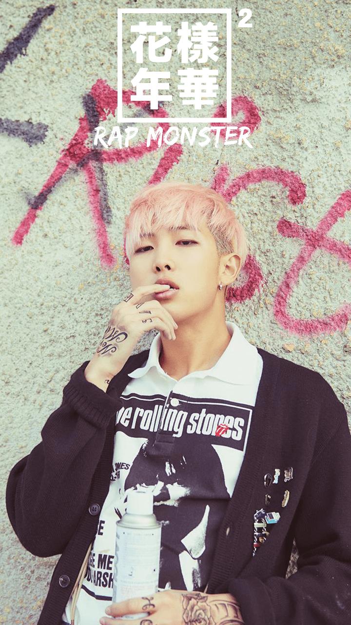 Bts Live Wallpaper Iphone Bts Wallpaper Rap Monster, Hd