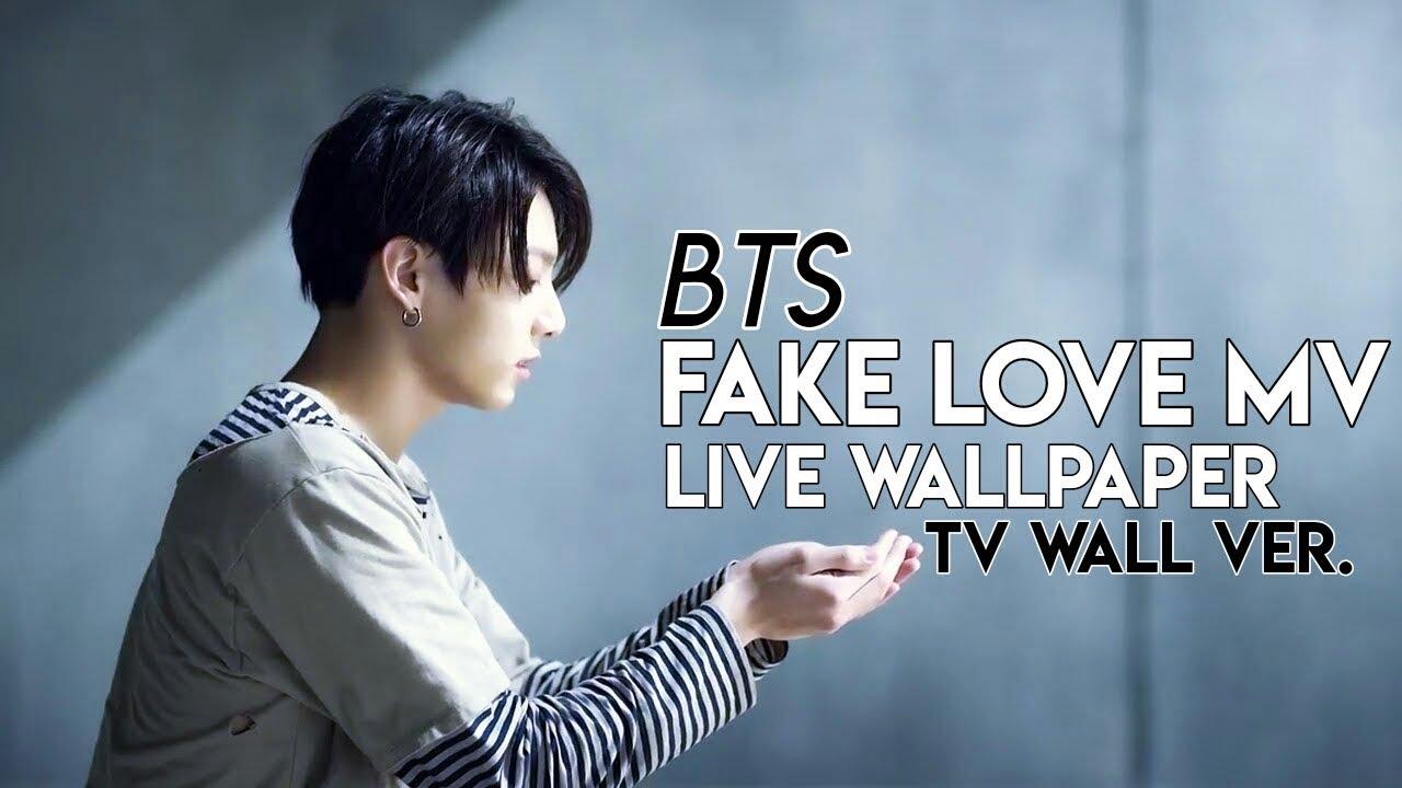 BTS Fake Love MV Live Wallpaper TV Wall Ver. AndroidiOS