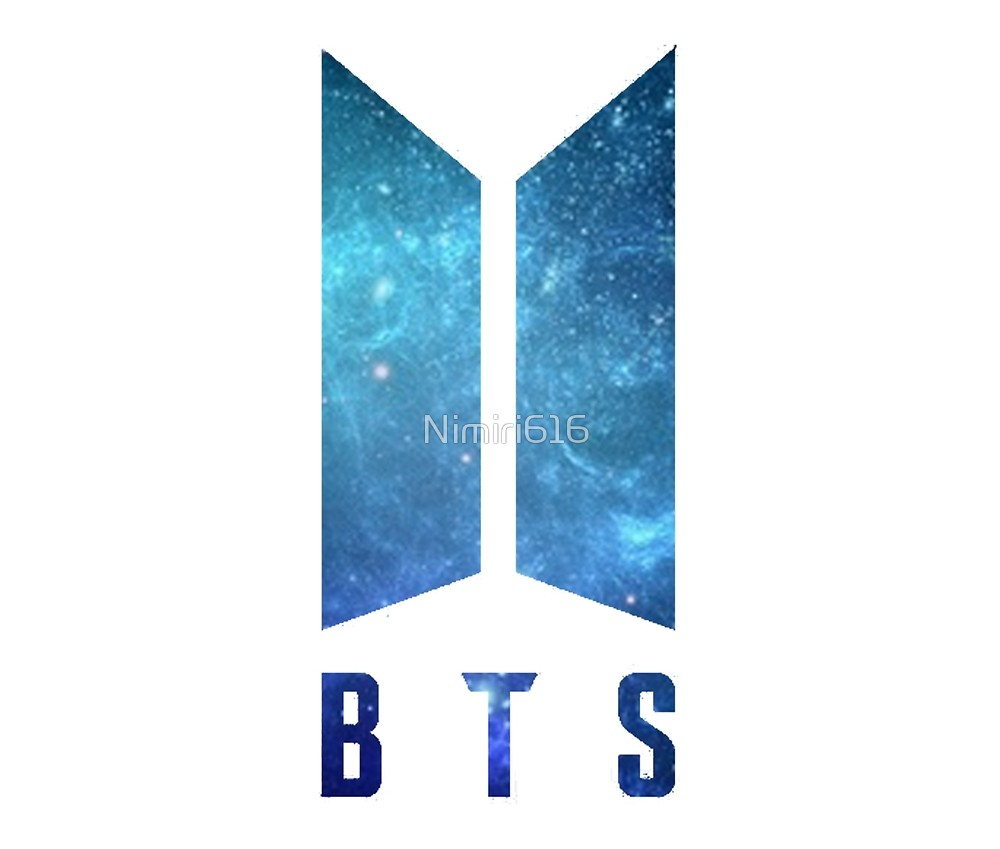 Download Free png BTS logo by Nimiri616 Redbubble DLPNG.com