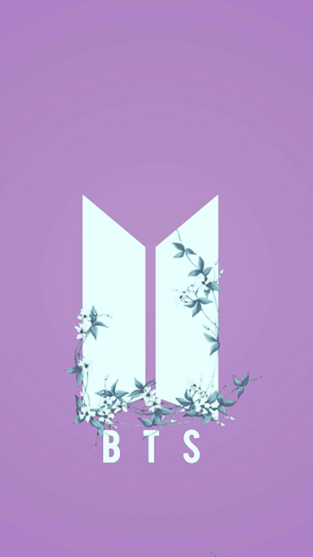 BTS Logo Wallpapers Wallpaper Cave