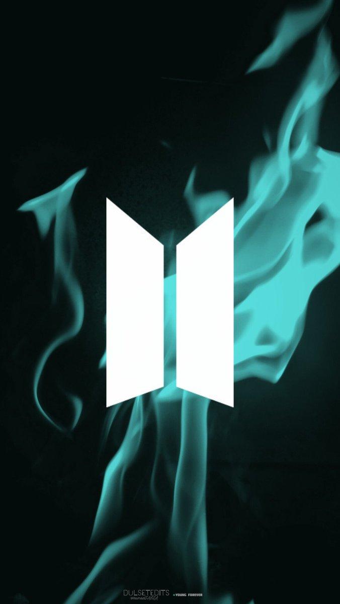 dYOEYe e... i e dYOE tm HIATUS on Twitter BTS Logo Wallpaper or