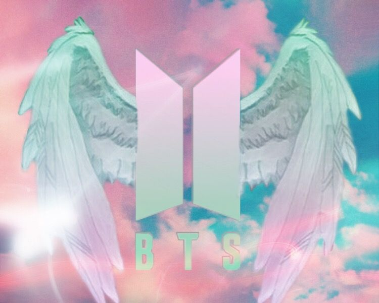freetoedit remixed bts logo wallpaper