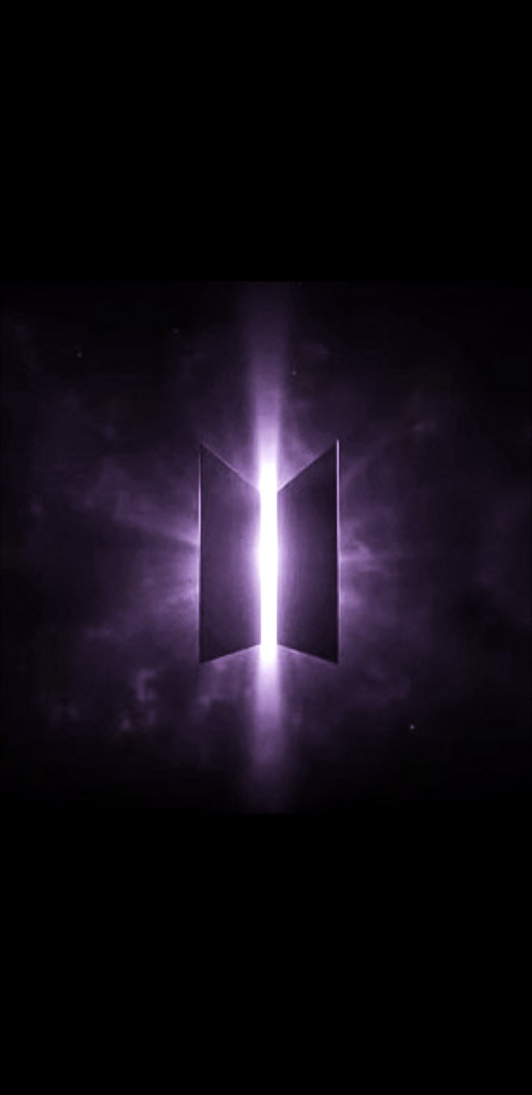 BTS logo wallpaper purple in 2019 Bts wallpaper, Bts