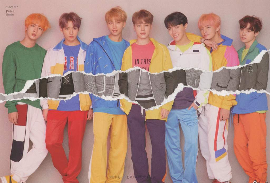 SCANS LOVE YOURSELF Answer Concept Photos L version